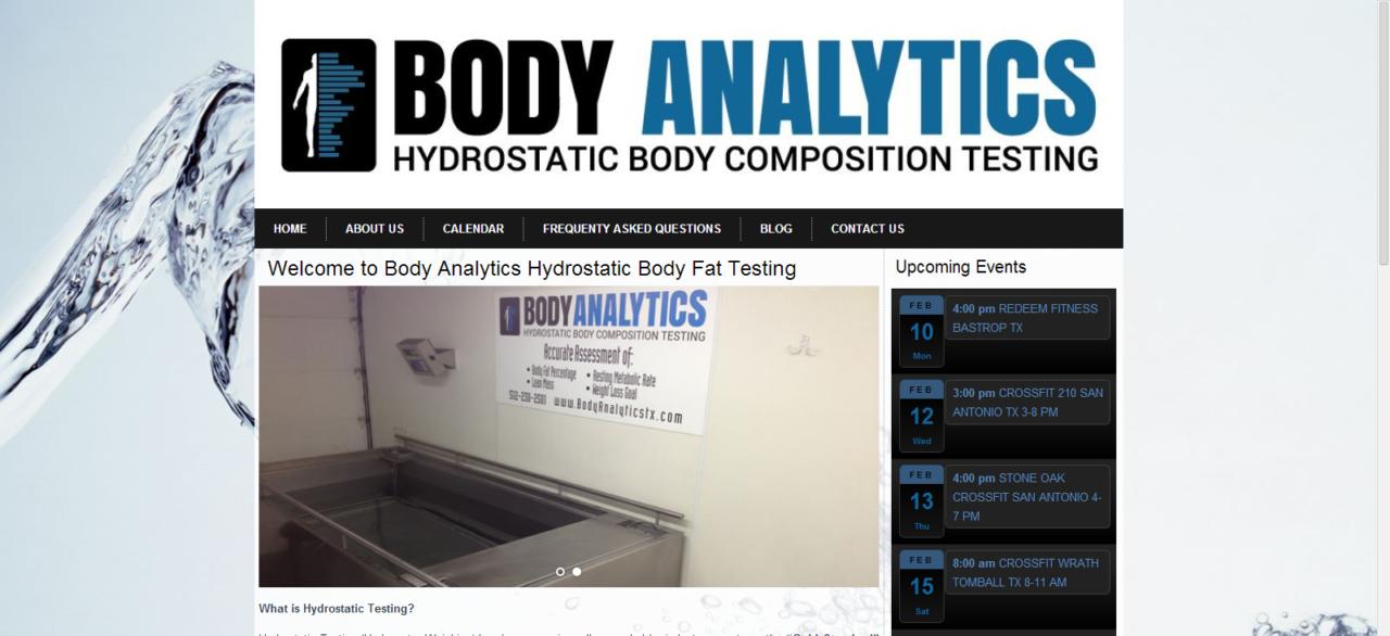 Body Analytics
