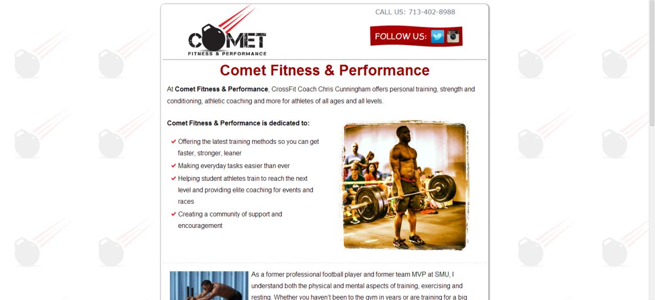 Comet Fitness