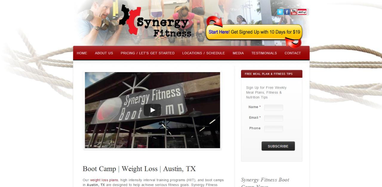 Synergy Fitness Austin