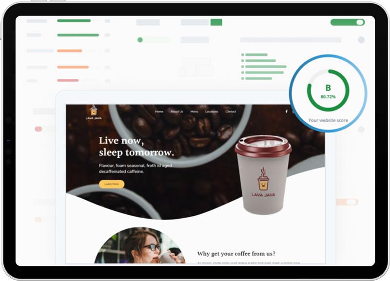 Pittman Unlimited Website Audit Report screen